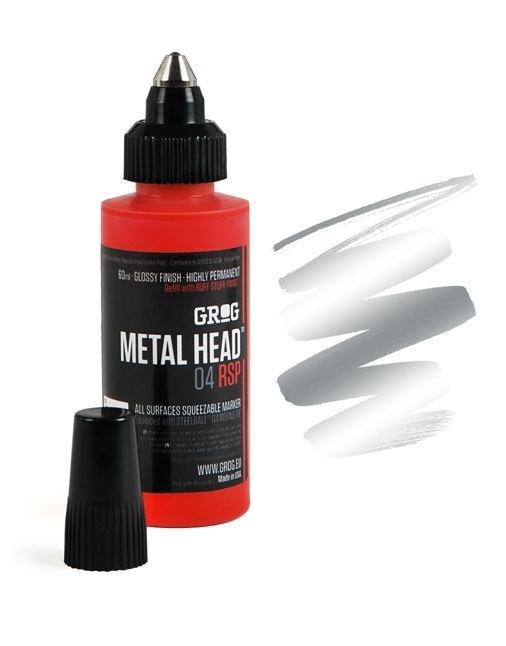 Grog Metalhead Marker Burning Chrome