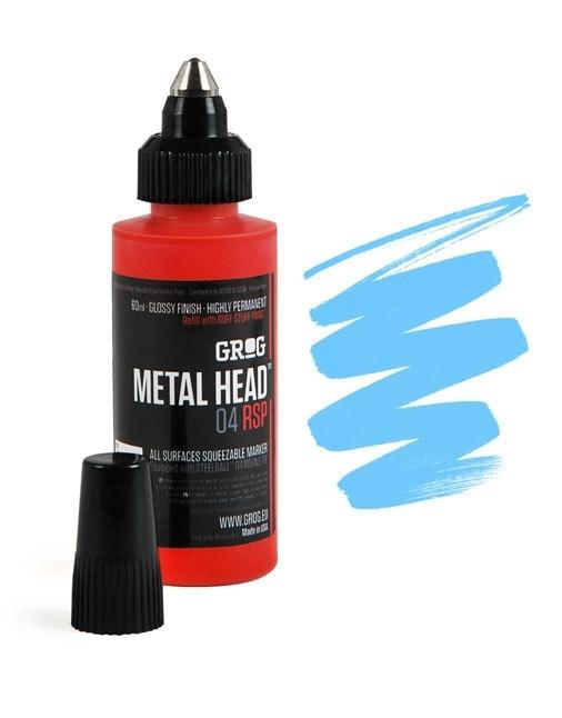 Grog Metalhead Marker Iceberg Blue