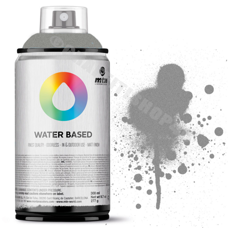 MTN Water Based Metal Color  Silver