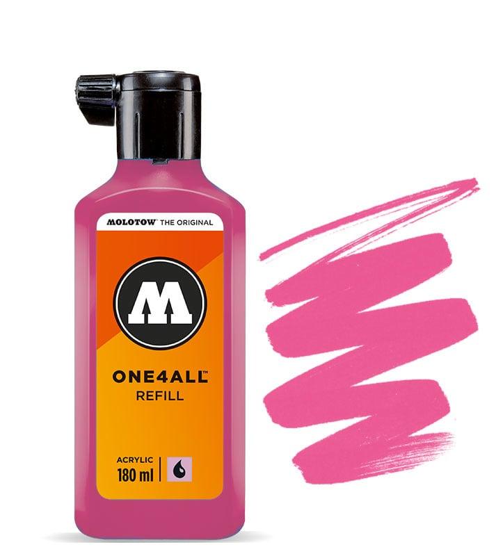 Molotow refill 180ml Neon Pink