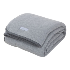 Little Dutch ledikantdeken Grey Melange pure & soft
