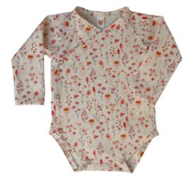 UKKIE babydesign overslagrompertje Zomerbloemetjes