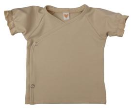 UKKIE babydesign ruffle shirt Zand