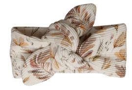 UKKIE babydesign haarbandje rib Leaves