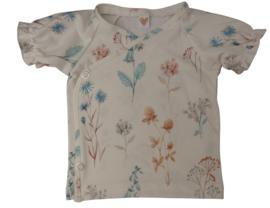 UKKIE babydesign ruffle shirt Veldbloemen