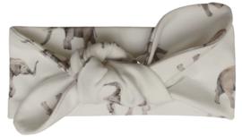 UKKIE babydesign haarbandje Olifantjes