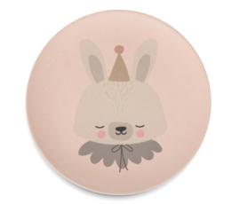 Eef Lillemor bamboe kinderservies Circus Bunny - 5 delig