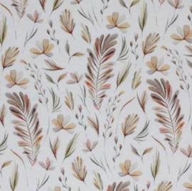 UKKIE babydesign overslagrompertje Leaves bruin