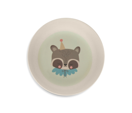 Eef Lillemor bamboe kinderservies Raccoon - 5 delig