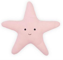 Jollein knuffelkussen zeester Tiny waffle soft pink