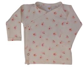 UKKIE babydesign overslagshirtje Roze bloesem