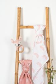 Jollein bijtring rammelaar Deer pale pink