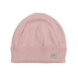 Jollein gebreid mutsje Pretty knit blush pink - 6/12 maanden