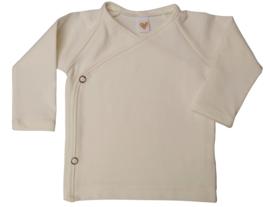 UKKIE babydesign overslagshirtje Off-white