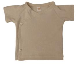 UKKIE babydesign shirt Badstof zand