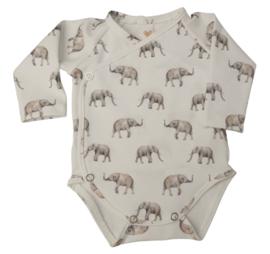 UKKIE babydesign overslagrompertje Olifantjes