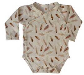 UKKIE babydesign overslagrompertje Veertjes