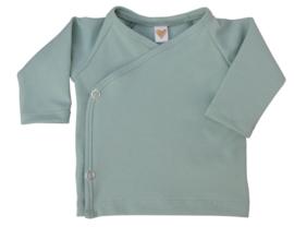 UKKIE babydesign overslagshirtje Mintgroen