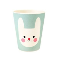 Rex London bamboe kinderservies beker Bonnie the Bunny