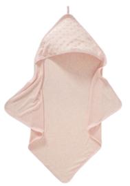 Cottonbaby badcape dot roze