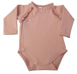 UKKIE babydesign overslagrompertje Nude roze