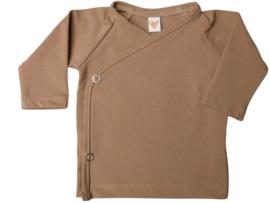 UKKIE babydesign overslagshirtje Taupe