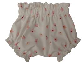 UKKIE babydesign ruffle bloomer Roze bloesem
