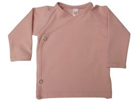 UKKIE babydesign overslagshirtje Nude roze