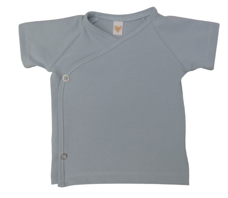 UKKIE babydesign overslagshirtje Lichtblauw
