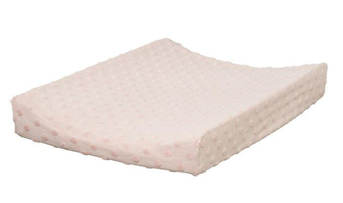 Cottonbaby aankleedkussenhoes dot roze