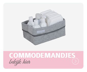 commodemandje, opbergmandje