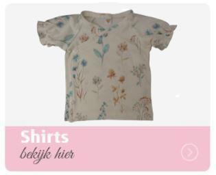 zomershirt, babyshirt,overslagshirt