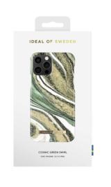 iDeal of Sweden Apple  Backcover hoesje - Cosmic Green Swirl