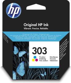 HP 303 (T6N01AE) Inktcartridge 3-kleuren