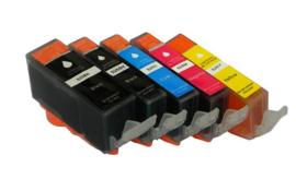 Canon PGI-525 / CLI-526 multipack PGBK/BK/C/M/Y (Huismerk)