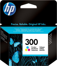 HP 300 (CC643EE) Inktcartridge 3-kleuren