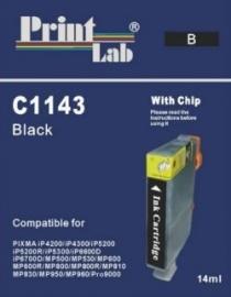 CLI-8 Black Huismerk