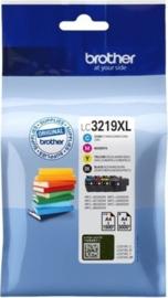 Brother LC-3219XLVAL Inktcartridge 4-kleuren Voordeelbundel Hoge capaciteit