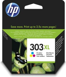 HP 303XL (T6N03AE) Inktcartridge 3-kleuren Hoge capaciteit