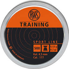 RWS LM Training 4,5mm 0,53g 500st