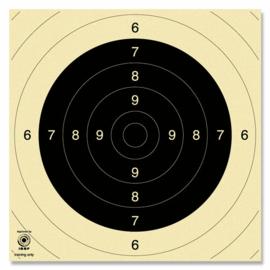 pistool kaarten 25/50 meter