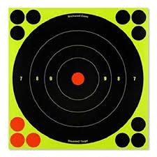 splattering target 8 inch