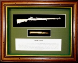 Schilderij M1 Garand