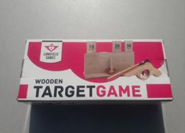 elastiekjespistool met target
