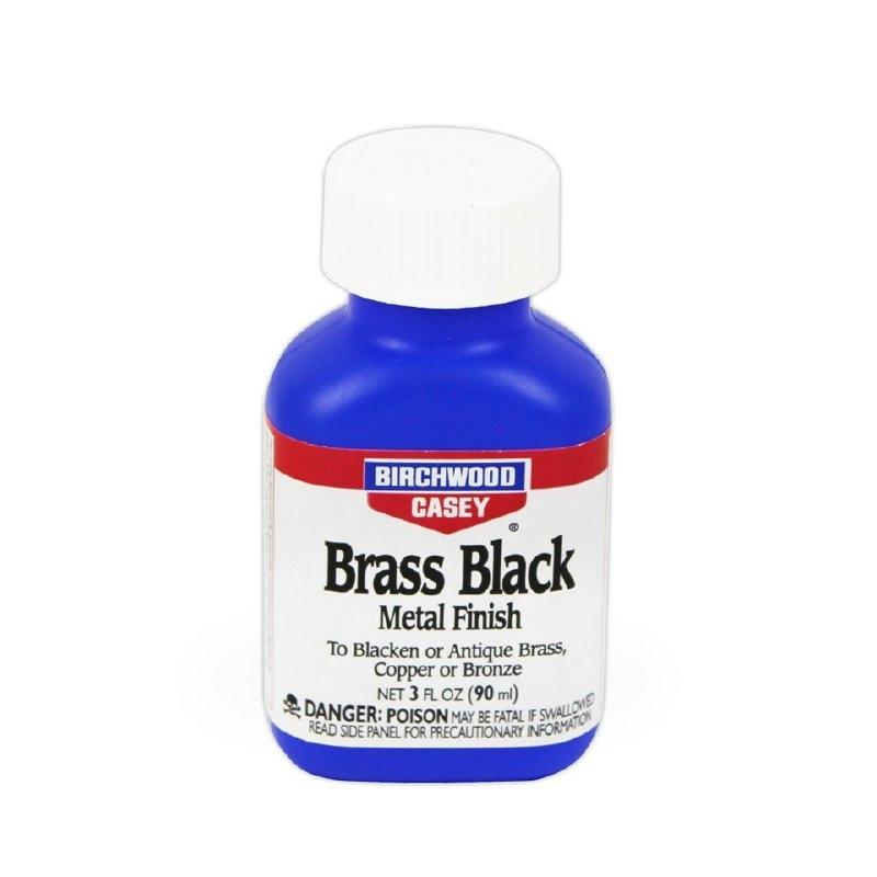 Birchwood casey brass blue liquid