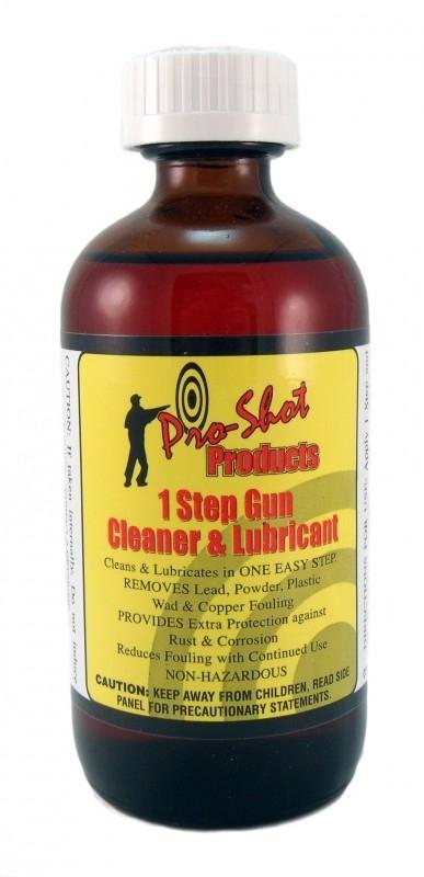 Pro shot 1 stap wapen reiniging en smering.