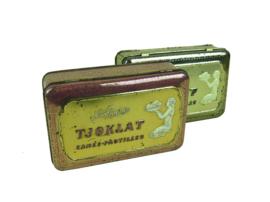 "Chocoladeblik ""Tjoklat"" - Set van 2"