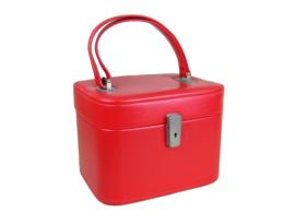Beautycase rood
