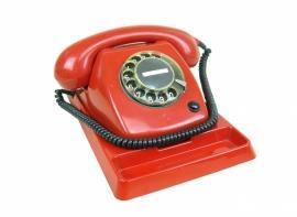 Retro PTT  telefoon rood