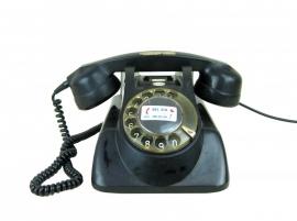 Bakelieten telefoon jaren '50